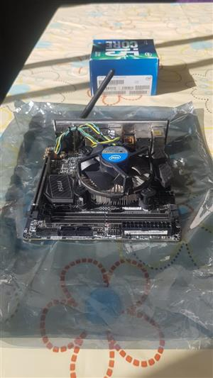 ITX Gaming motherboard (z-board) with i5 cpu and cpu fan