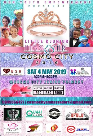 LITTLE & JUNIOR MISS & MR COSMO CITY 2019, 4 MAY 2019
