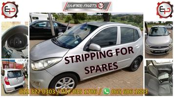 *STRIPPING FOR SPARES - HY068 HYUNDAI I10 2011 (G4HG)*
