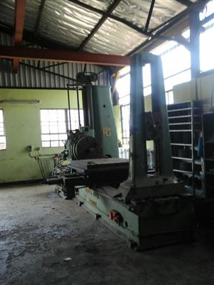 3 M Forges DE Gilly Boring Mill.