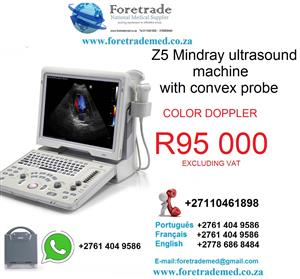 Z5 Mindray ultrasound machine only for R95000 contact patrick on 0110461898