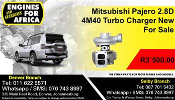 Mitsubishi Pajero 2.8D 4M40 Turbo Charger New For Sale.