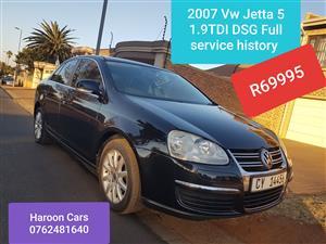 2007 VW Jetta 1.9TDI Comfortline DSG