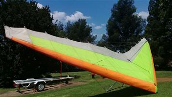 Aquilla Microlight Wing - Perfect flying condition
