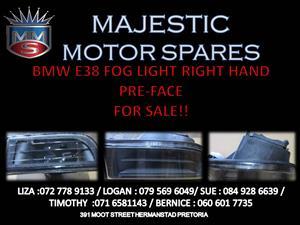 BMW E38 RIGHT HAND PRE-FACE FOG LIGHT FOR SALE