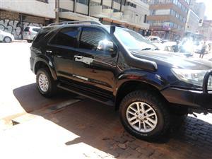 2012 Toyota Fortuner 3.0D 4D 4x4 Epic auto