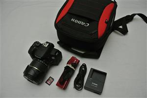 Canon EOS 700D DSLR with 18-270mm Tamron
