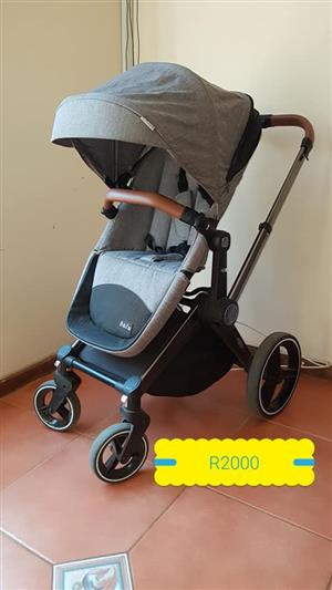 Grey pram for sale
