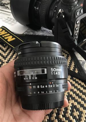 Nikkor 50mm f1:4 D