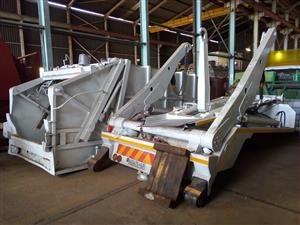 Second hand skip loader bodies on sale now!