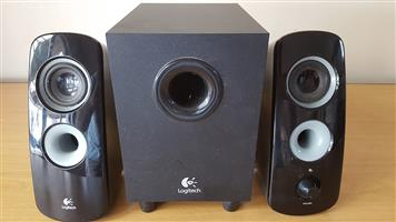 Logitech speakers and subwoofer Z323