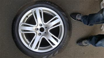 Audi 18inch rims and tyres