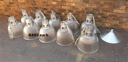 Exquisite Industrial Style Bell Pendant Lights (d 410mm)Each R495