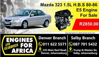 Used Mazda 323 E5 1.5L H, B, S 80-86 Engine For Sale