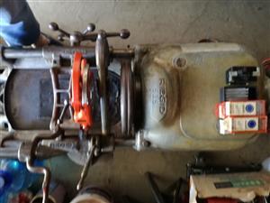 Ridgit 535 threading machine.