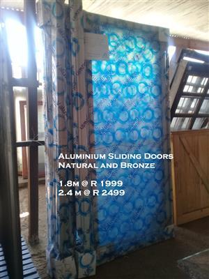 New Aluminium Sliding Doors