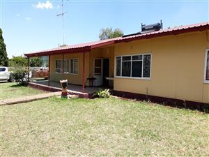 3 BEDROOM ASBESTOS  HOUSE IN GROOTVLEI ESKOM POWER STATION