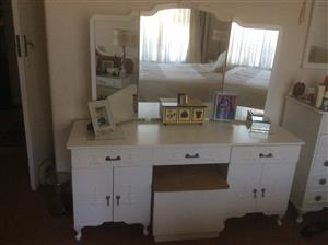 Dressing table White French style
