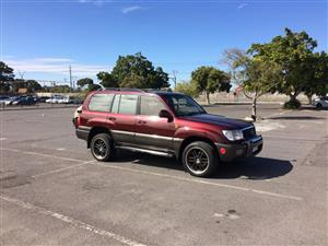 1998 Toyota Land Cruiser 100 4.7 V8 VX