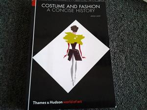 Costume and fashion concise history book