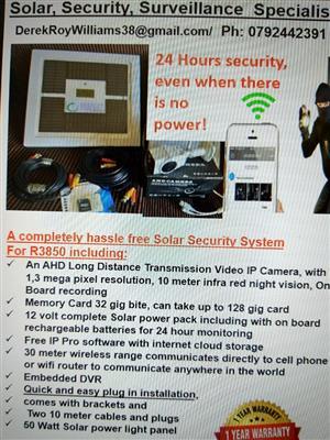 Solar IP camera