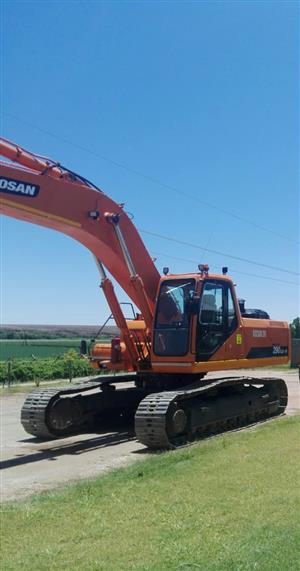 Doosan 30T Excavator Mine Ready