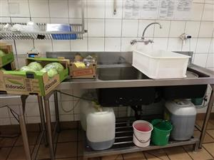 Large double sink for sale