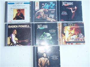 Jazz CDs in good condition - 7 jazz Cds