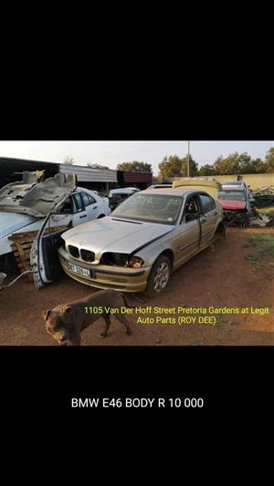 BMW e46 body for spares as @ Legit Auto Parts (ROY)