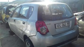 Chevrolet aveo stripping for spare parts