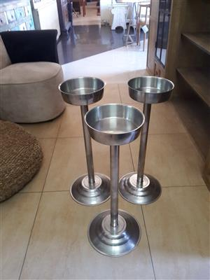 Stainless Steel Ice Bucket Stands