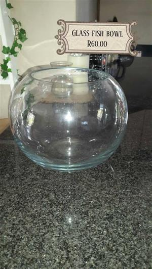 Glass fishbowl for sale