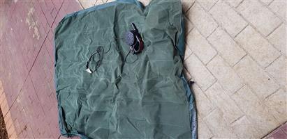 Blow up camping mattress