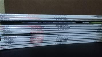 Popular Mechanics magazines