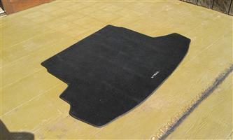 Nissan X-trail (2007-2013) Boot Floor Mat (material, original)
