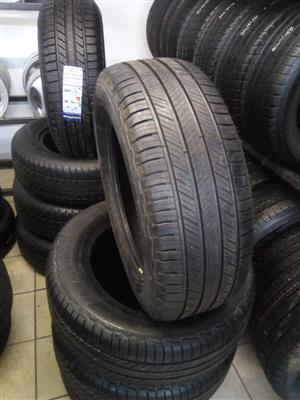 255/60/18 Michelin 4x new tyres for your bakkie or SUV