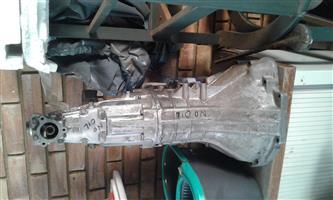Pajero i0 1600 gearbox. Complete
