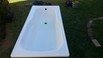 Bath - NOT FITTED BEFORE - Steel and Enameled