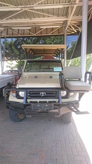 2001 Toyota Land Cruiser 70 series 4,5
