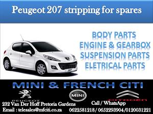 peugeot 207 in car spares and parts in south africa | junk mail