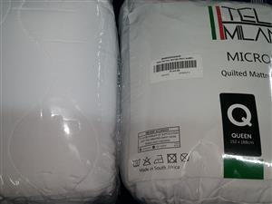 QUILTED AND TOWELLING MATTRESS AND PILLOW PROTECTORS