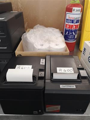 Invoice/receipt printer thermal and printer rolls