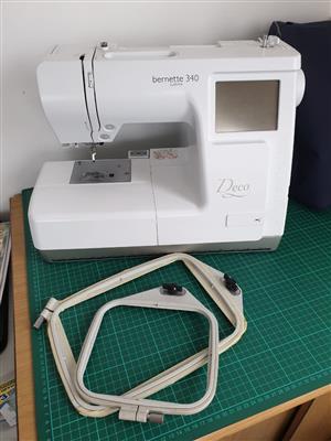 Bernina Deco 340 Embroidery Machine