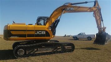 JCB JS200 excavator