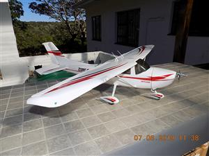 RC model aircraft  - Cessna 182 Skylane