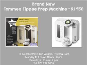 Brand New Tommee Tippee Prep Machine