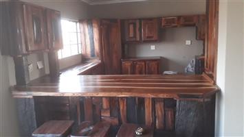 Sleeper wood kitchen furniture