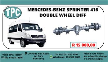 Mercedes-Benz Sprinter 416 Double Wheel Diff - For Sale at TPC