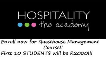 Students to attend  Guesthouse Management Certificate Workshop Training