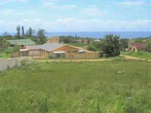 Vacant Land with Lovely Sea Views for sale in Port Edward